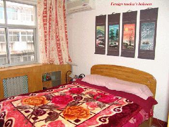 foreign teacher's bedroom.JPG
